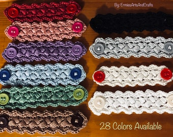 Single or Set of Handmade Face Mask Extenders, Face Mask Ear Saver. Ear Protector. Adults and kids* More colors available