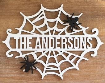 Halloween Spiderweb Monogram SVG, Spiderweb Digital File, Laser Engraving svg, Glowforge SVG File, Monogram svg, Halloween SVG