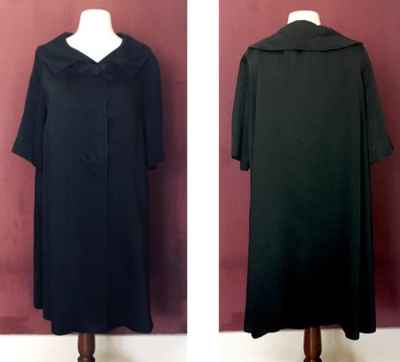 Black Swing Coat