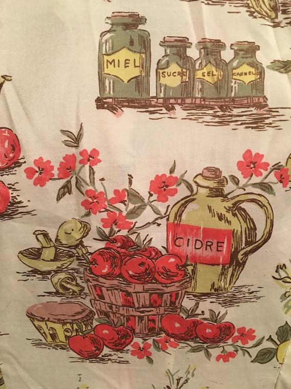 French Novelty Print Day Dress - image 9