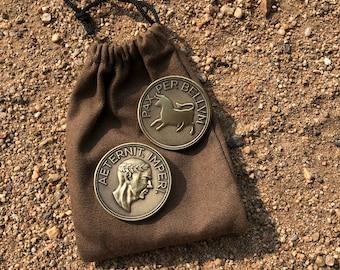Fallout New Vegas - Legion Aureus Coin Caesar's Legion