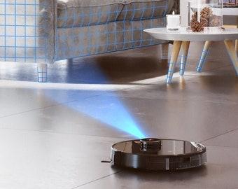 Neatsvor X600 PRO Staubsauger ROBOTER 3in1 für Ihr Zuhause mit Lasernavigationssystem