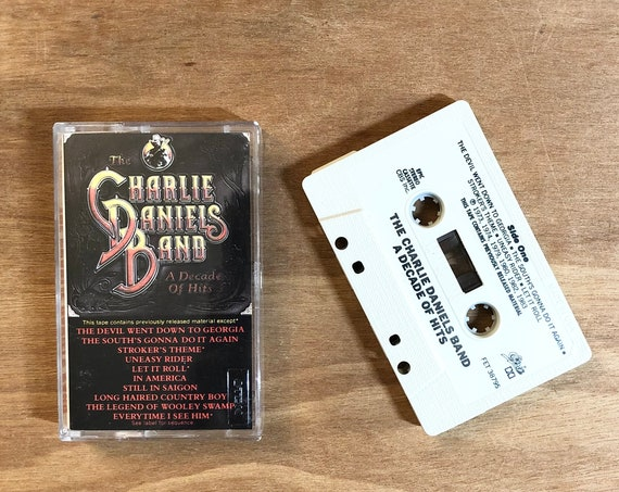 The Charlie Daniels Band - A Decade of Hits / Cassette Tape