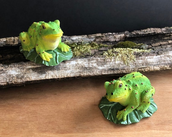 Vintage 90's Frogs by Sophia Ann - 1995 / Set of two