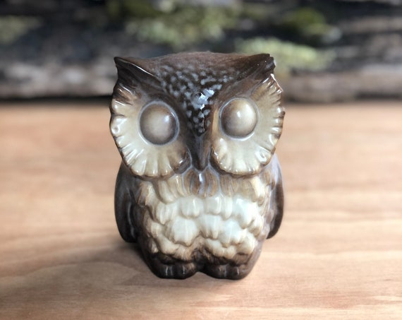 Vintage Howard Pierce Ceramic Owl