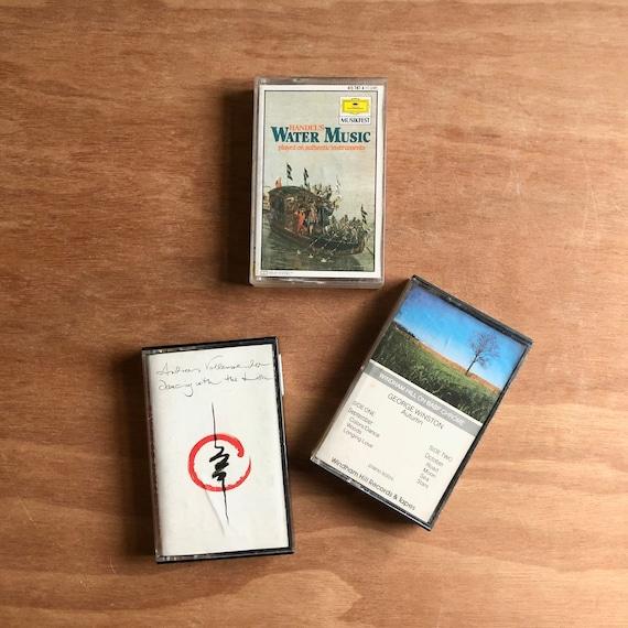 Vintage Tapes Easy listening - you choose - Handel's Water Music / Andreas Vollenweider / George Winst