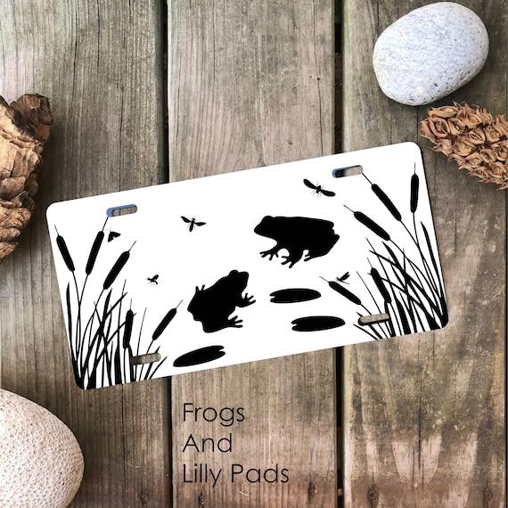 Frog - Amphibian License Plate -  Car Tag
