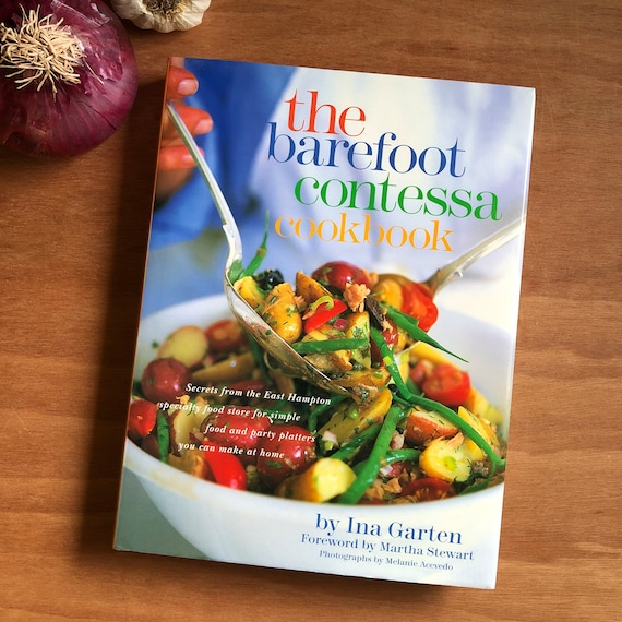 Vintage - The Barefoot Contessa Cookbook- 1999