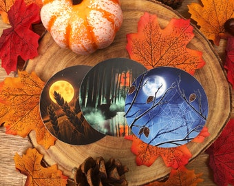 The Autumn Moons Vinyl Sticker Collection