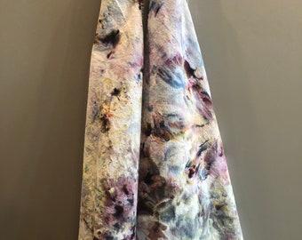 Flour Sack Dish Towel Blue Sea Glass Tie Dye Ice Dye Tea Towel Home Decor Gift Hand Dyed 100/% Cotton Cloth Textiles Kitchen Linens