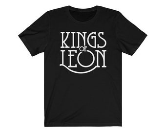 The Kings of Leon Rock Music Logo Iron On T-Shirt Transfer A5