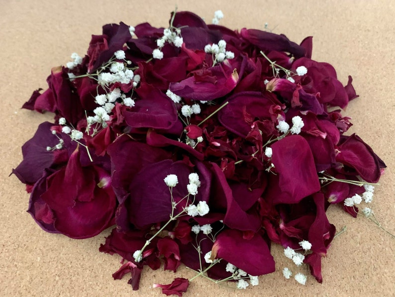 Biodegradable Flower Confetti \u2022 Great for weddings birthdays and huge life milestones \u2022 Tossing wedding flowers \u2022 Made in Canada