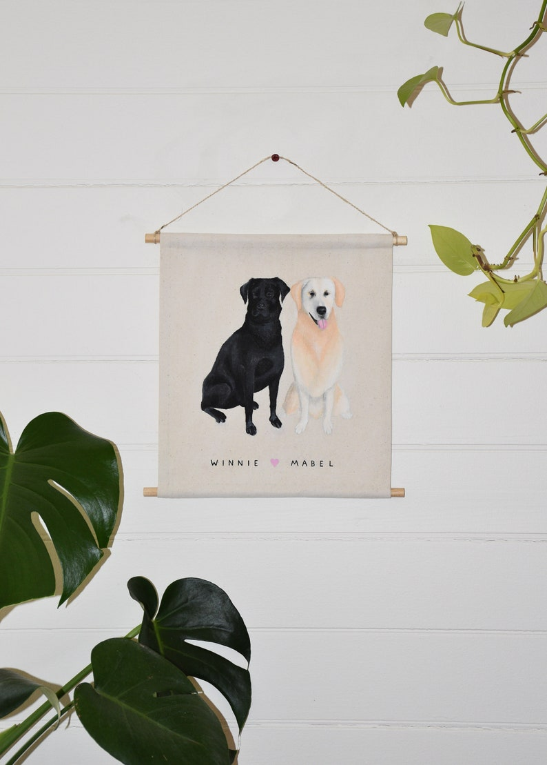 any Animal Unique Gift for Pet or Animal Lover Handmade Paintings from Photos of Dog Cat Custom Portrait of Pet