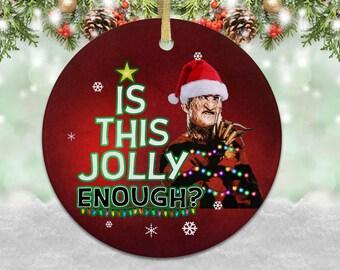 Freddy Krueger Nightmare Elm Street Christmas Tree Baubles Kid/'s T-Shirt