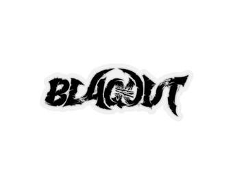 Blaqout Logo Sticker