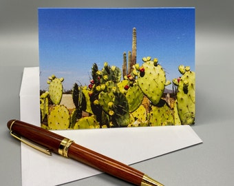 Big Bend National Park FREE Shipping! Pack of 5 Cards Made in USA Nature Photo Card The Window Casa Grande on a Misty Morning