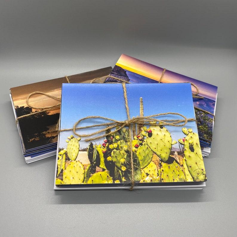 National Park Photo Greeting Cards  Set of 10 w/ Envelopes image 1