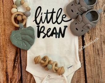 Little Bean Unisex Gerber Onesie