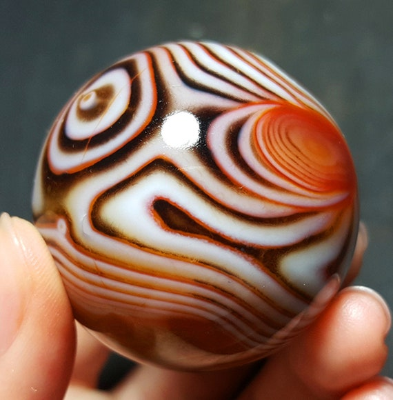 Water color crystal agate Palm StonesChakraReikiMeditationSpecial GiftHealing crystalagate beadsWater plant agate