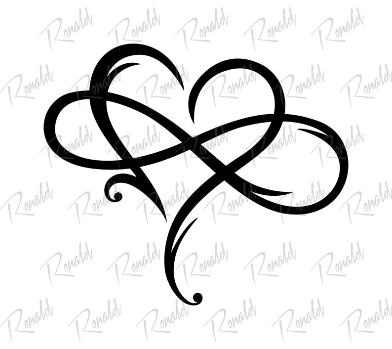 2003+ Infinity Love Svg Zip File