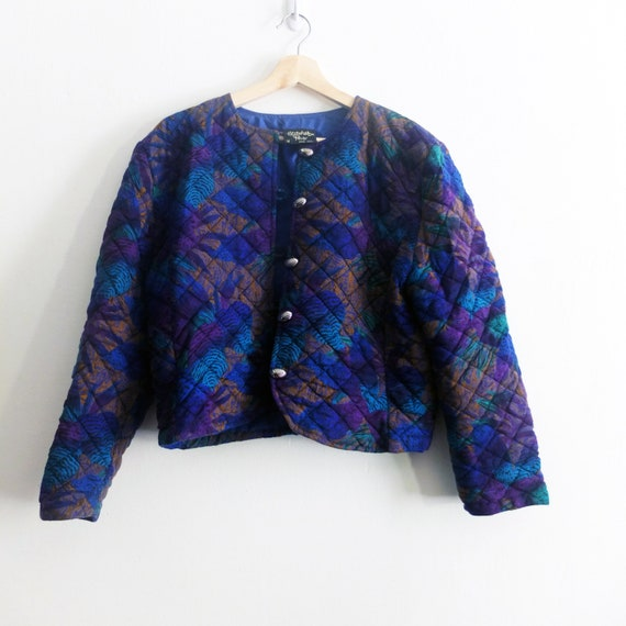 Quilted Crop Jacket