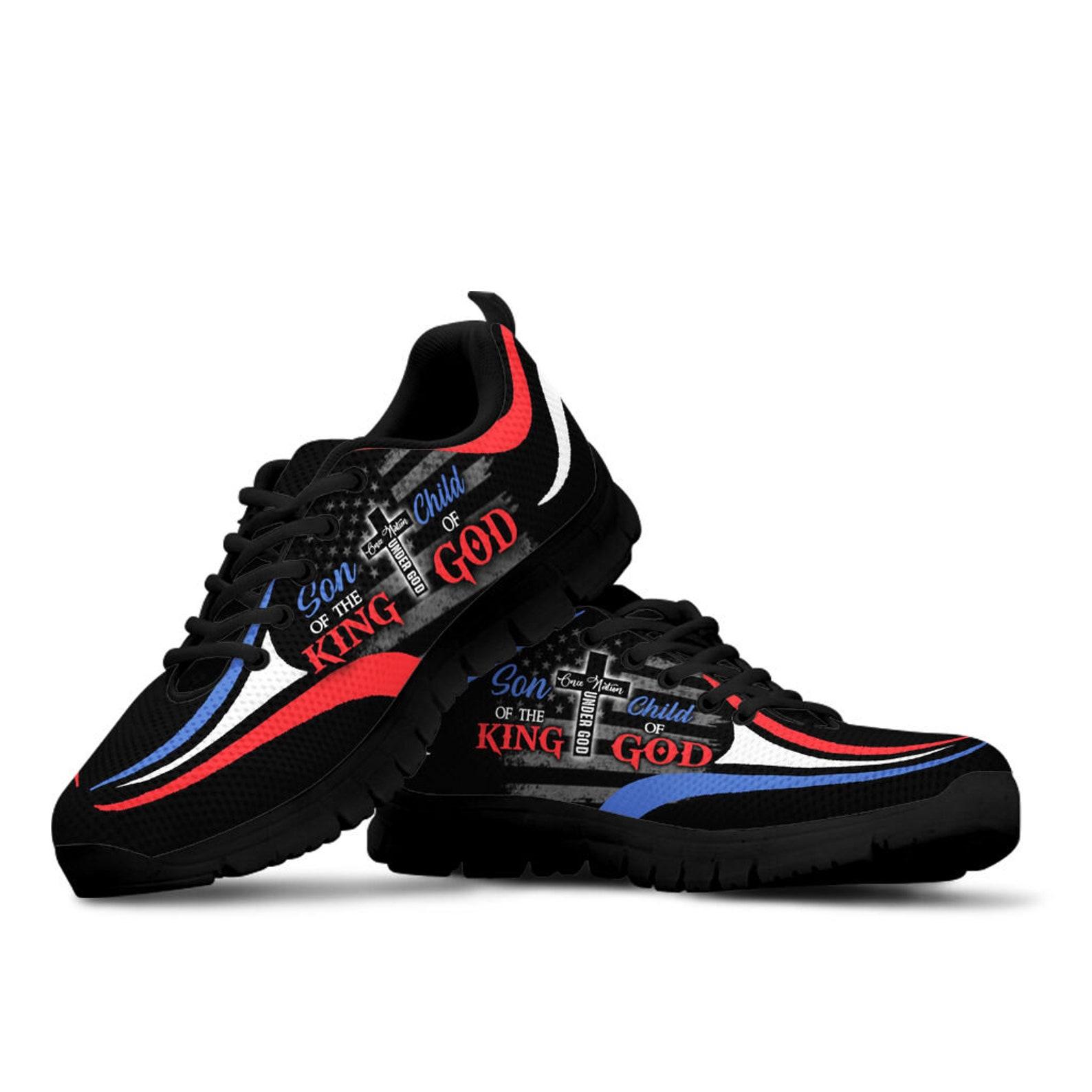 Sohn des KönigsKind Gottes Sneaker Casual Best Custom | Etsy