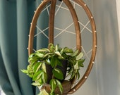 Eggshell basket, plant hanger, plant stand, wood plant basket, macrame, plant pot, hanging basket, plants, hanging planter, basket, hanger,