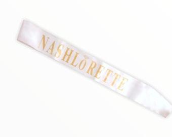 Nashlorette Premium Sash