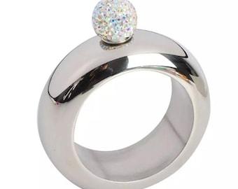 Silver Flask Bracelet