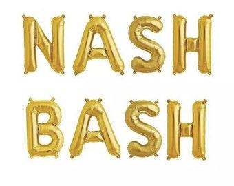 Nash Bash Balloon Banner Kit - 8pcs