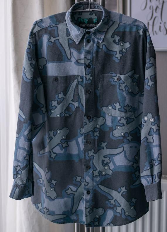 Vintage Mens Shirt MARIMEKKO Size S