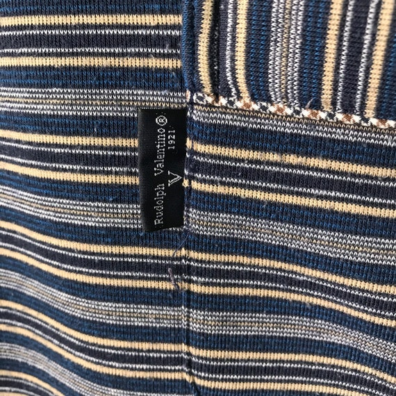 Pick!! Vintage 90s Rudolph Valentino Button Up Cr… - image 5