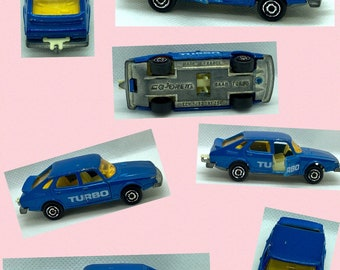 Majorette Saab Turbo - Vintage Toy Car - Free U.K. Delivery