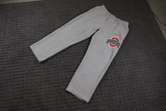 Vintage Nike Tack Pants / Sweatpants / Ohio State