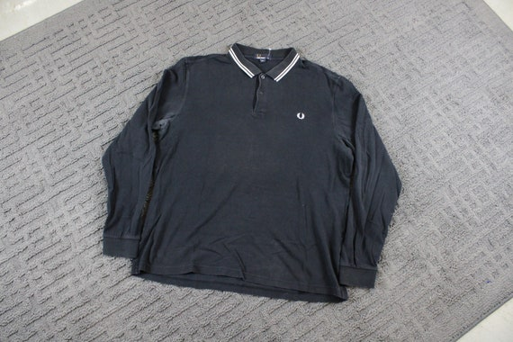Fred Perry Polo Rugby Shirt / 90s Colour Block Top