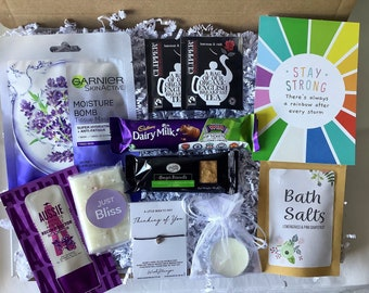 Thinking of you Letterbox Gift | Friends | Pamper | Birthdays | Hug in a Box | Pick me up | Thoughtful Gift Box | Care Package | Stay Strong