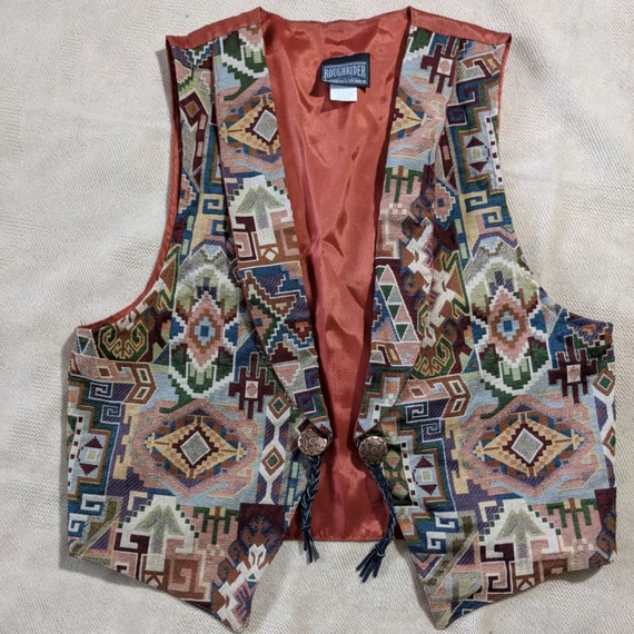 Rough Rider Vintage Vest Western wear