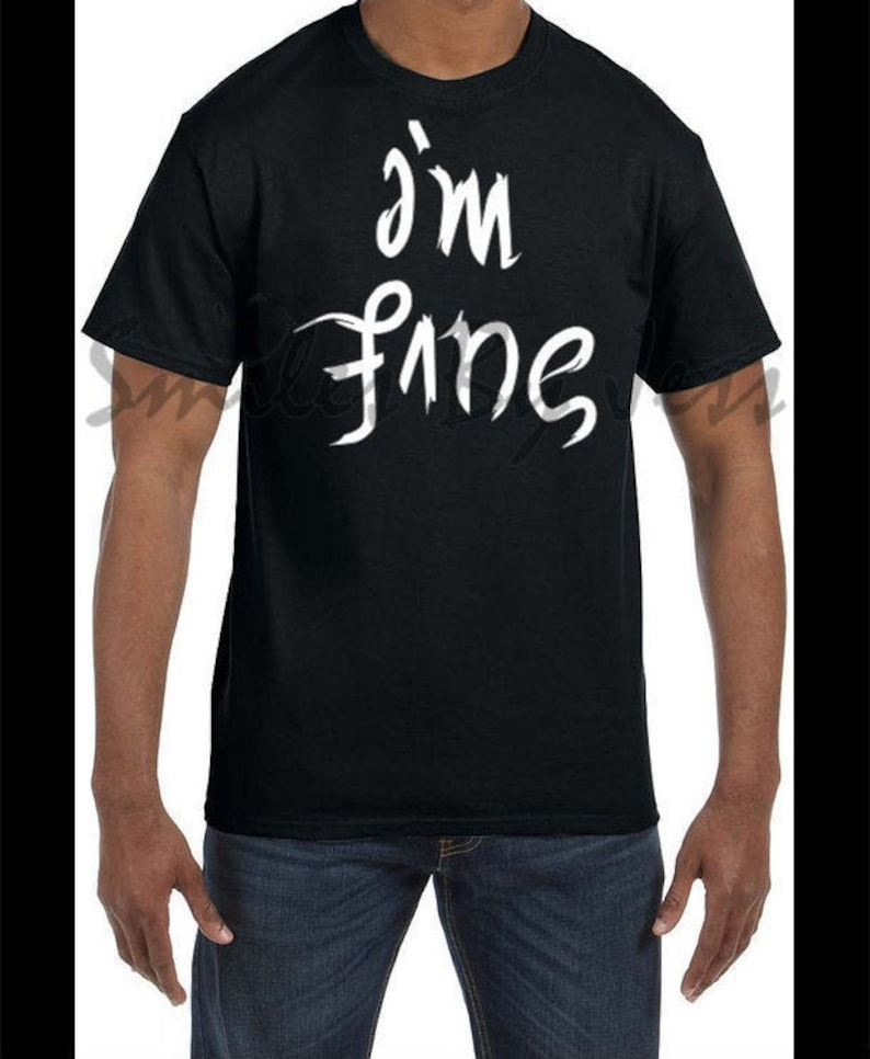 I/'m finesave me-depression,anxiety T-Shirt