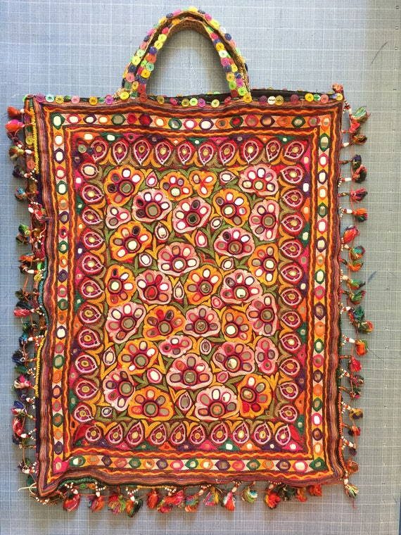 Indian Tapestry Tote Bag