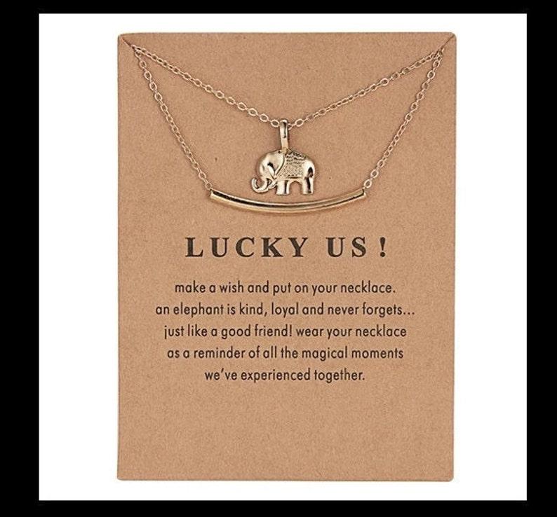 Friendship Necklace Druzy Gemstone Jewelry Crystal Vintage Gift Make a wish