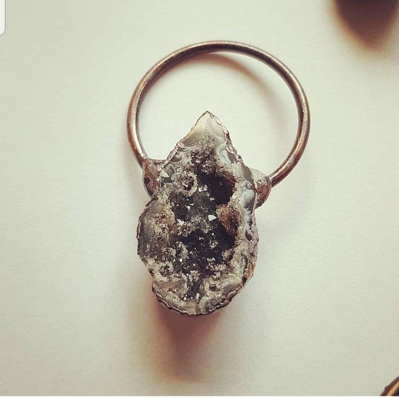 Quartz Gemstone Crystal Jewelry Necklace Gift Vintage Boho