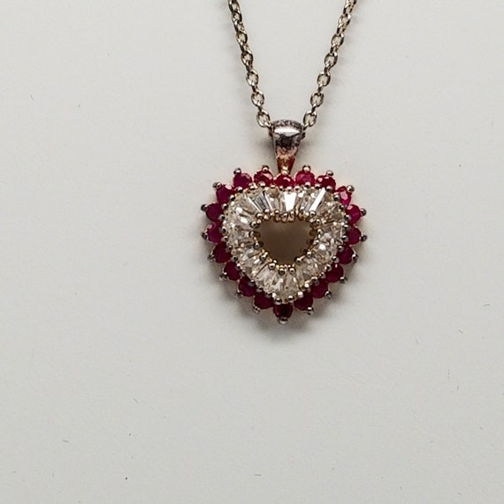 Sterling Silver Heart Necklace
