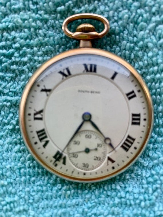 Pocket Watch South Bend Open Face