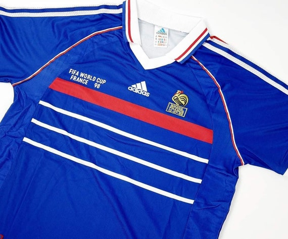 Retro France 1998 Home World Cup Final
