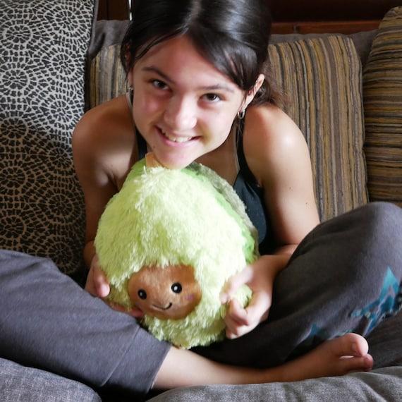 "Stuffed Avocado Plush Toy Super Soft 7/"" Cute"