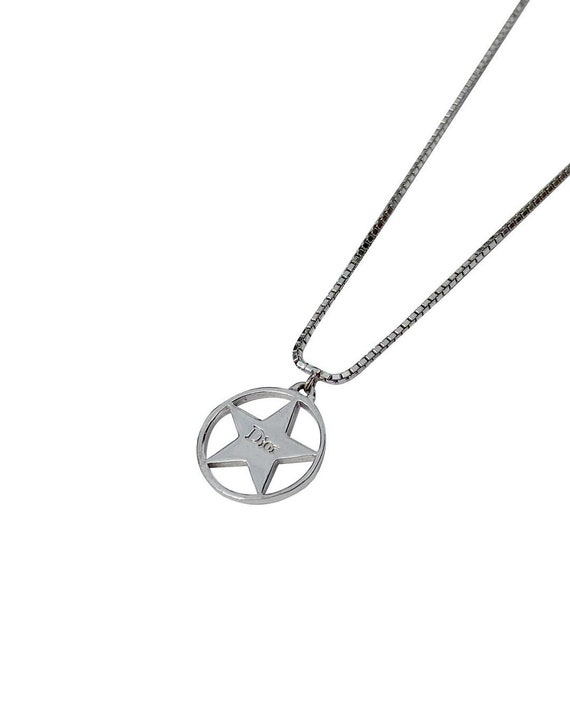 authentic DIOR hardcore star necklace