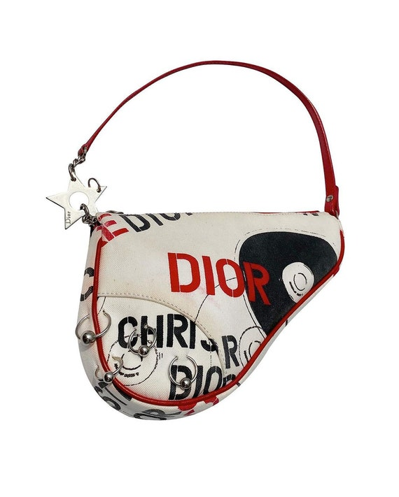 authentic DIOR hardcore piercing saddle bag