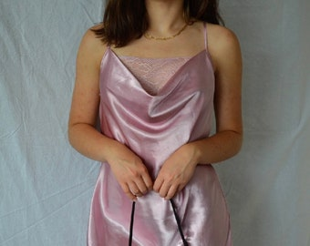 RARE 70s Mini Slip Knicks Basketball Team Colors Blue and Red Nightgown Mod Slip Small or XSmall