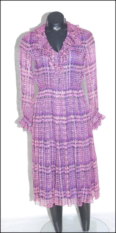 Lauren plaid dress