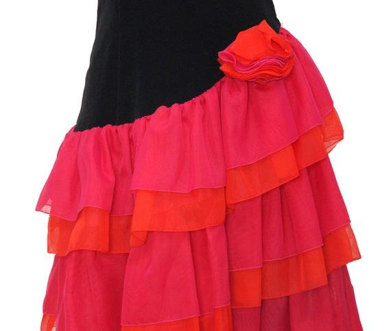 Bustier dress 1980s